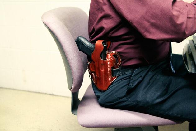 Guns at the office?