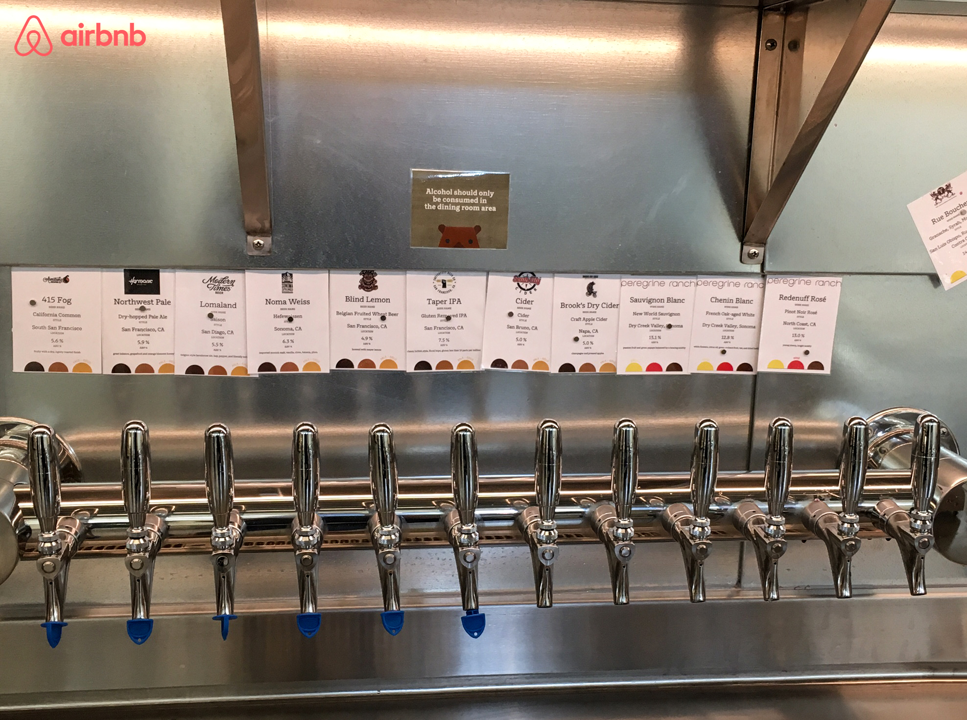 Airbnb's Beverages on Tap