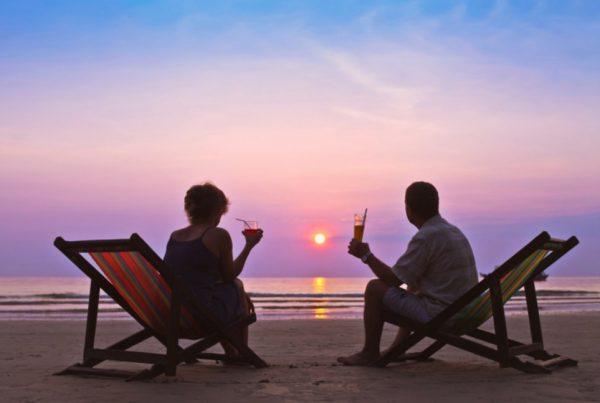 retirement sunset