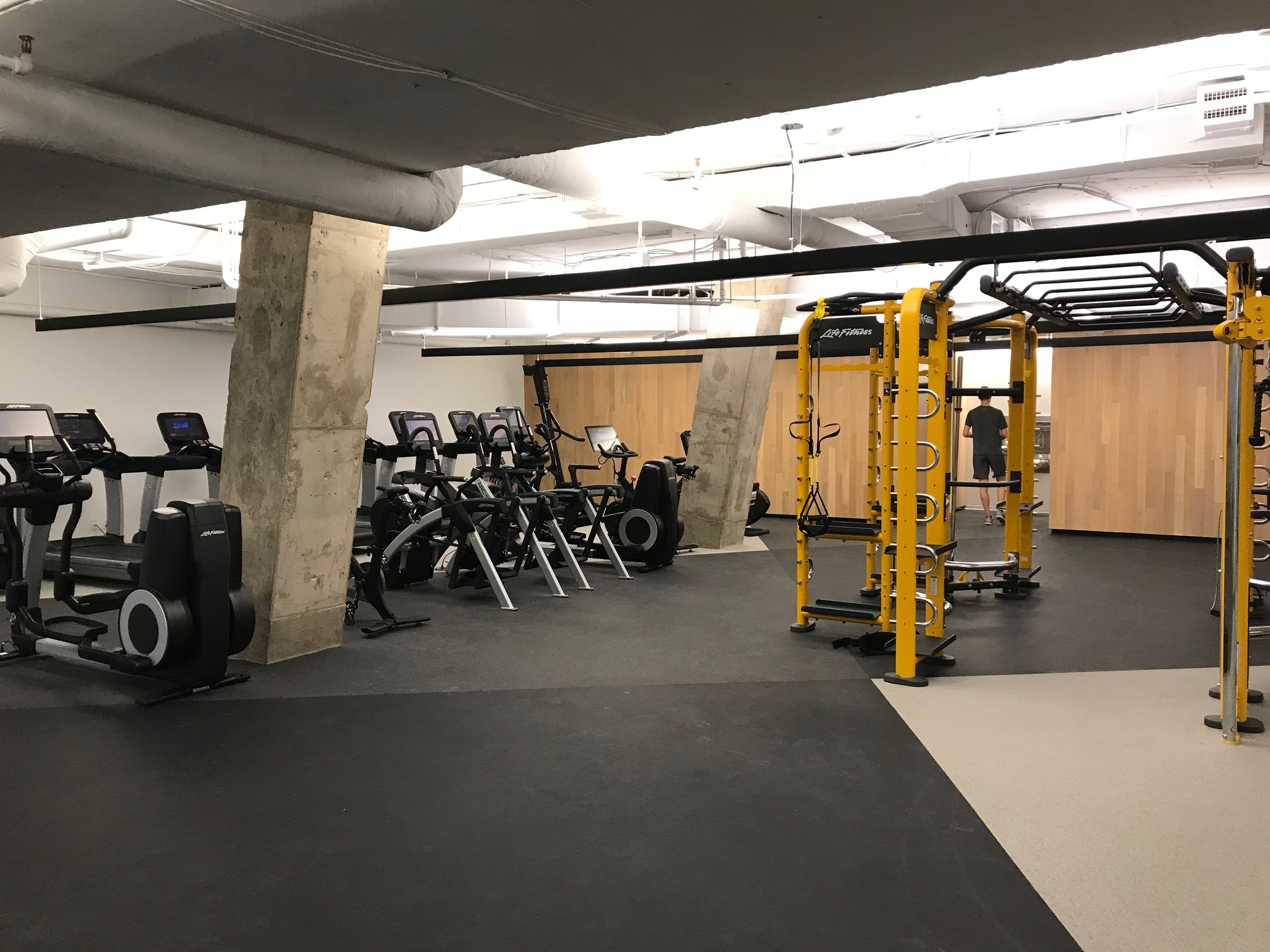 office building gym